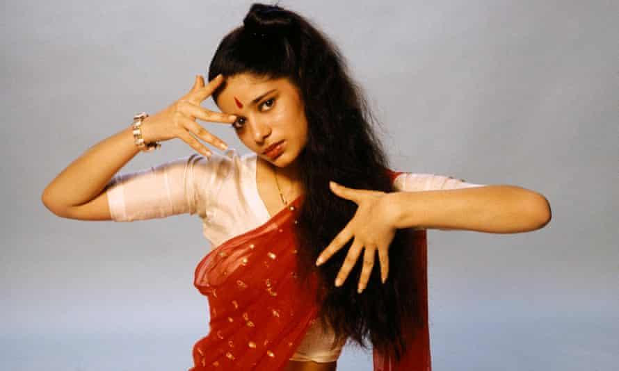 Sheila Chandra in her Monsoon days.