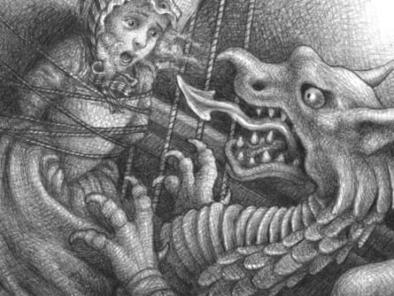 Illustration from The Marvels by Brian Selznick