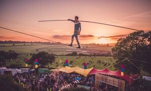 Shindig Festival, Somerset.