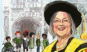 Lady Hale on the front cover of the book