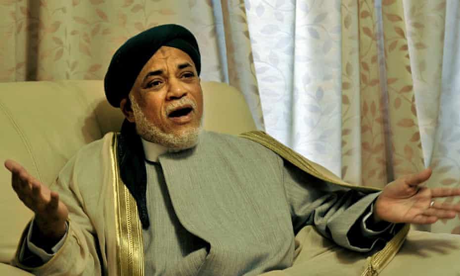 Ahmed Abdallah Mohamed Sambi, the former president of the Comoro Islands