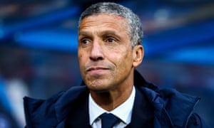 Chris Hughton, in charge of his former club Brighton
