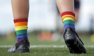 Rainbow socks in the AFLW