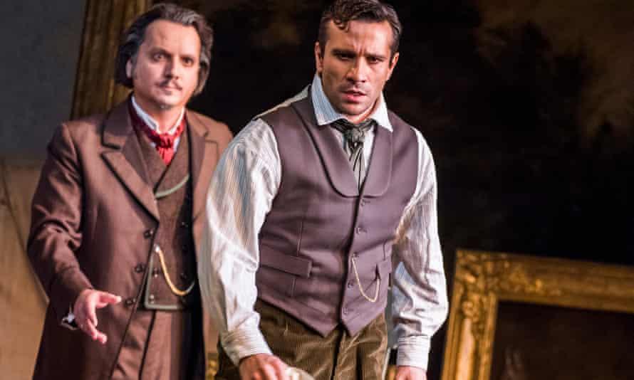 Artur Ruciński and Sergey Romanovsky in La Traviata.