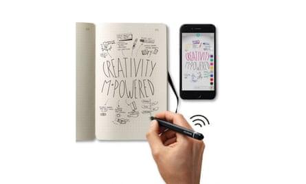 Smart writing set, £199.95From pen straight to screenpenheaven.co.uk