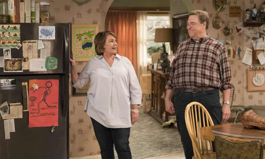 Roseanne Barr and John Goodman in the short-lived but extremely successful 2018 reboot of Roseanne