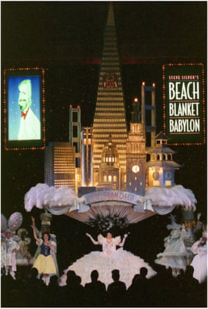 The Silver San Francisco Skyline hat, based on Steve Silver's original sketches and designs, created for the 25th anniversary of Beach Blanket Babylon in 1999.