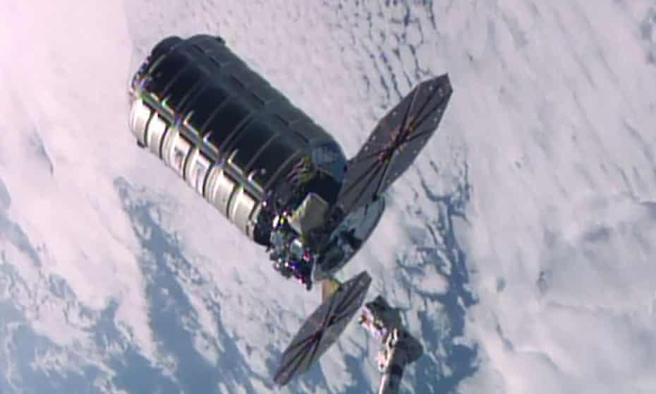Orbital ATK Cygnus space freighter