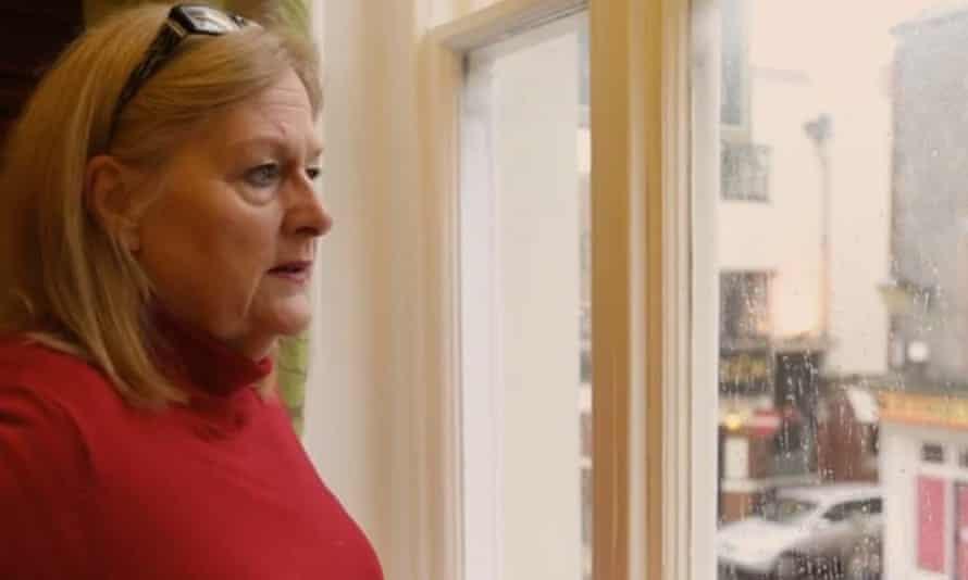 Damien's mother, Valerie.