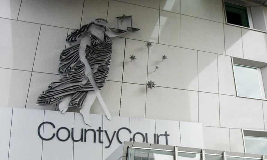 The outside of the County Court of Victoria.