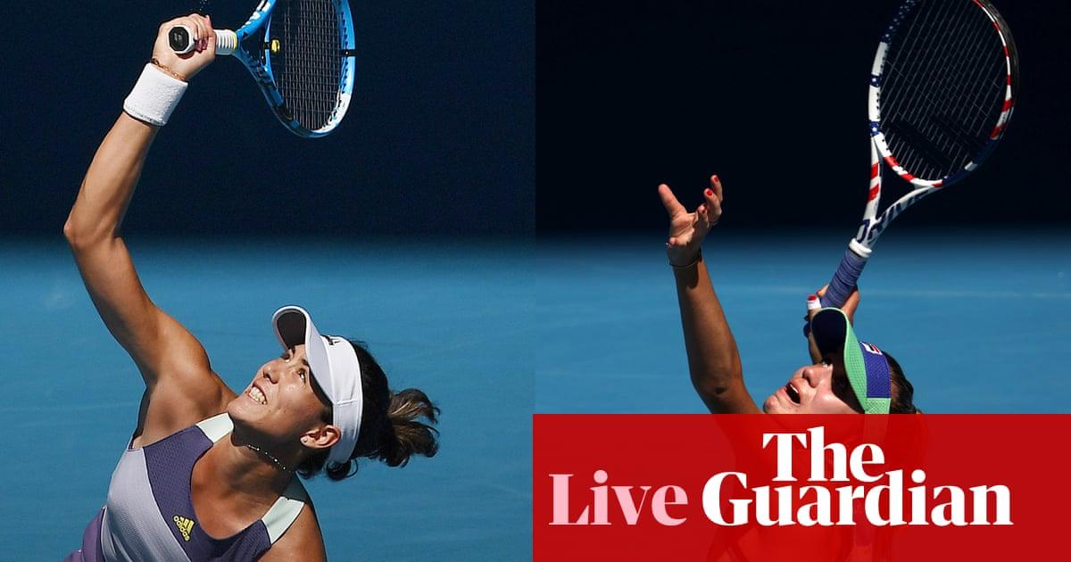 Sofia Kenin v Garbiñe Muguruza: Australian Open womens singles final –live!