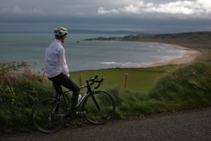 Andy Pietrasik on the Causeway Coastal Route.