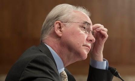 The White House said Tom Price offered his resignation and Trump accepted it.