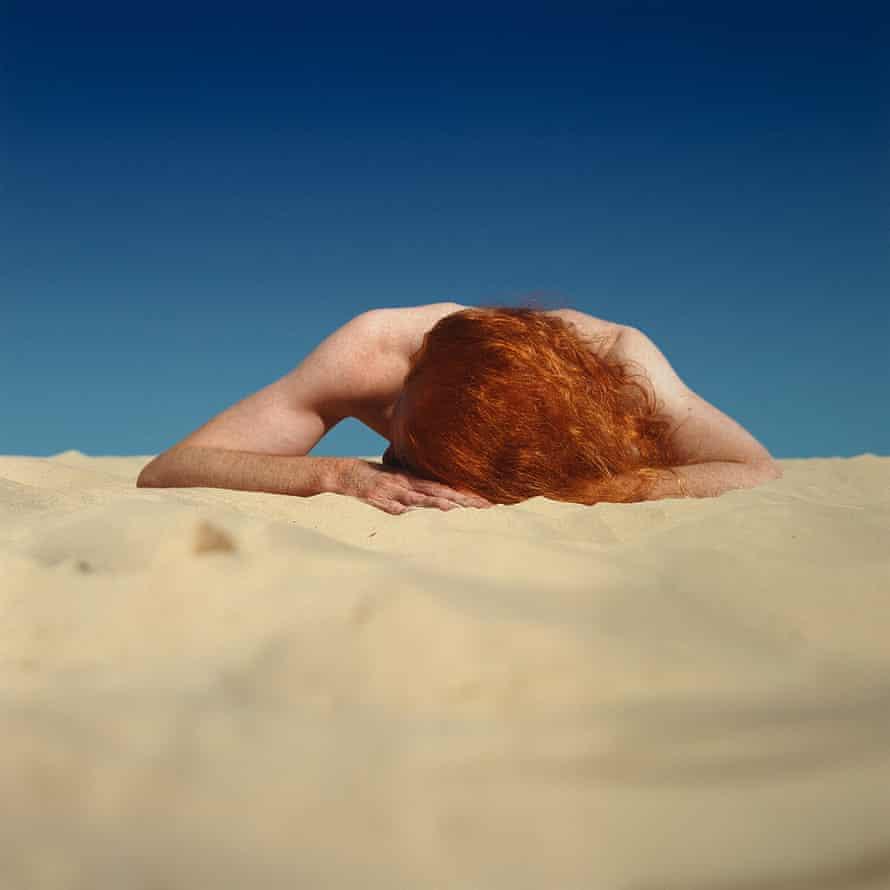 Sunbaker #2, 1989