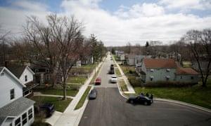 Aspenwald Avenue in Elkhart, Indiana.