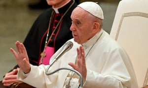 Pope Francis addresses Vatican employees