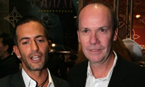 Richard Prince with the designer Marc Jacobs in 2007.