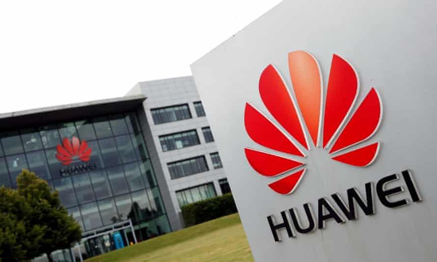 Huawei's UK headquarters in Reading