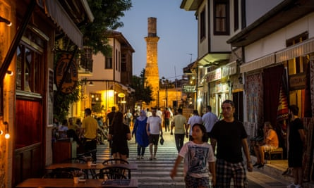Turkey is bouncing back as a tourist destination with Antalya old town still a firm favourite