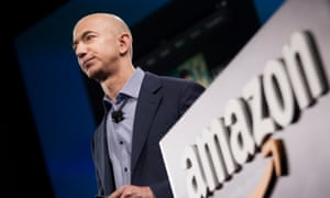 Jeff Bezos, founder and CEO of Amazon, which has announced plans to expand its full-time US workforce by more than 50%.