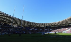 England's trip to the Stadio Olimpico has been postponed because of the coronavirus outbreak.