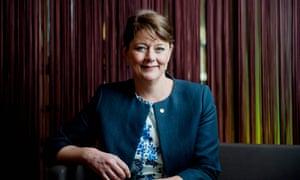 Leanne Wood, leader of Plaid Cymru.