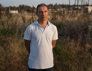 Alexis Andronopoulos, who rescued people from the fires in Greece in July 2018