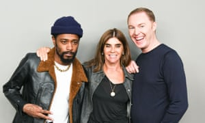 Lakeith Stanfield, Carine Roitfeld and Stuart Vevers.