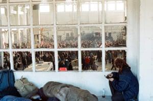 Free Party Scene, 1990s.