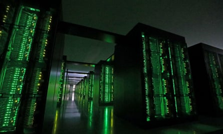 Superkomputer Fugaku Jepang.