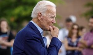 Joe Biden, answering reporters' questions on August 24.