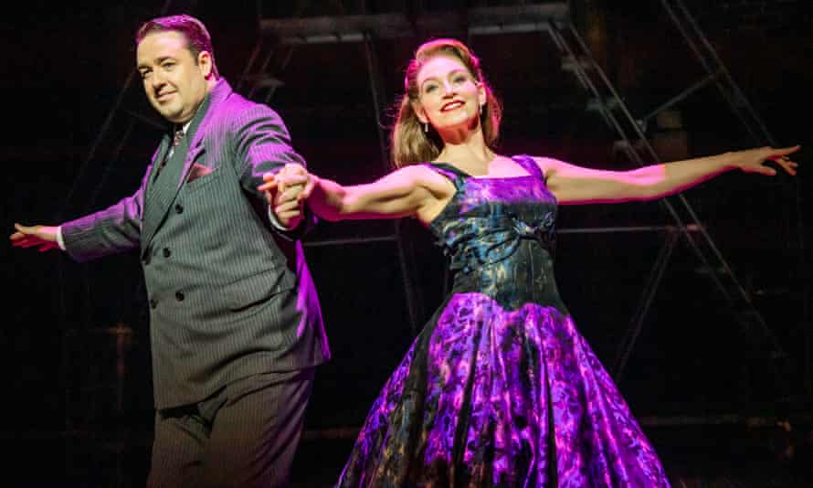 Jason Manford and Leah Barbara West in Curtains.