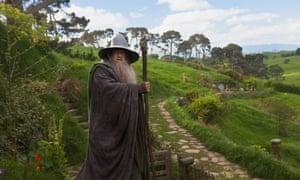 Ian McKellen as Gandalf in The Hobbit: An Unexpected Journey. (AP Photo/Warner Bros., James Fisher, File)