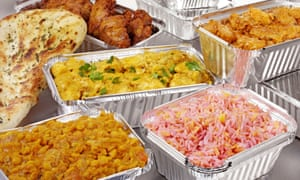 A takeaway curry