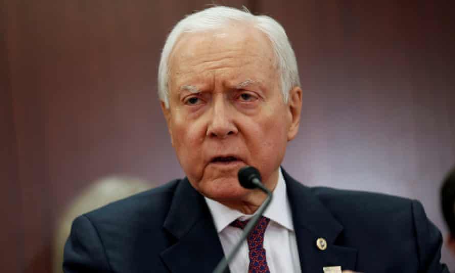 Orrin Hatch's tweet did not include a link to the editorial.