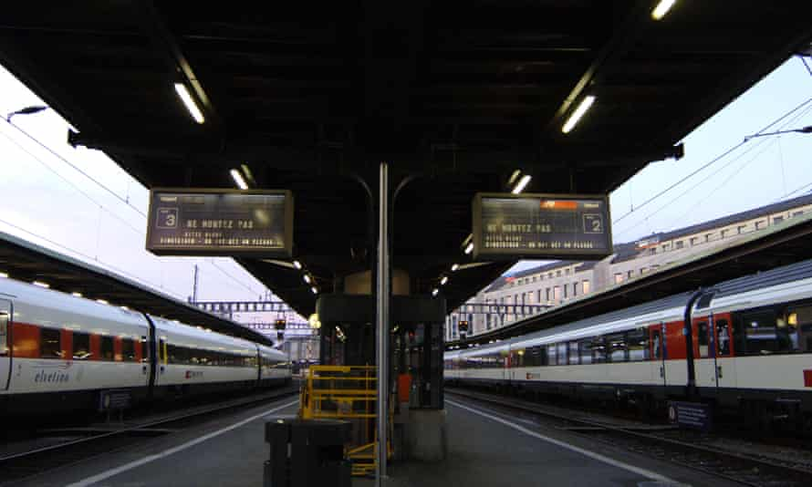 Geneva rail station