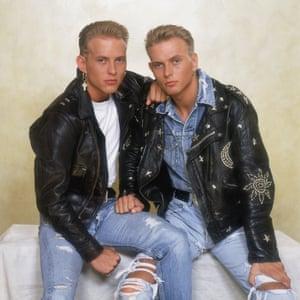 Matt and Luke c1990.