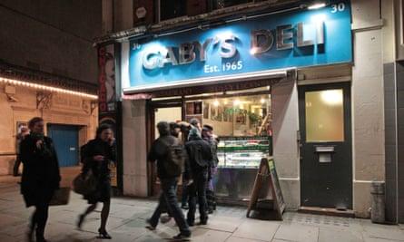 Gaby's Deli in central London