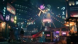 Final Fantasy VII Remake's reimagined Midgar