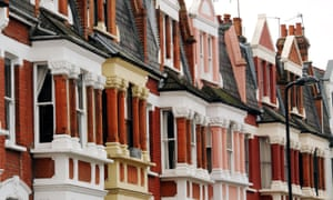Victorian terraces in Stoke Newington, London