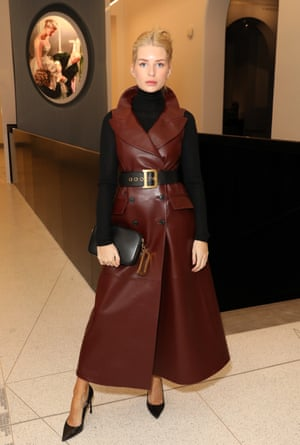 Lottie Moss at the Christian Dior: Designer of Dreams exhibition