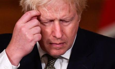 The Covid Mugger Is Back But This Time Boris Johnson Isn T Even Wrestling It Boris Johnson The Guardian