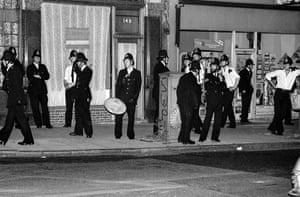 Hackney riots, Dalston, 1981