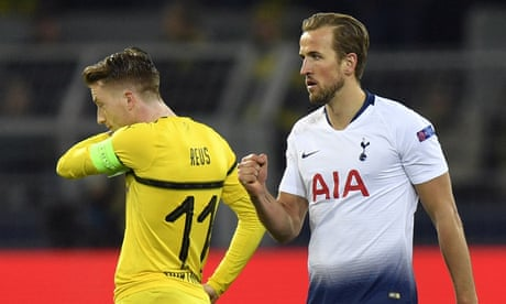 Harry Kane's deadly artistry fires Spurs past Dortmund and into last eight