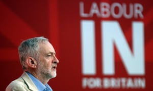 Jeremy Corbyn states Labour's case for staying in the EU