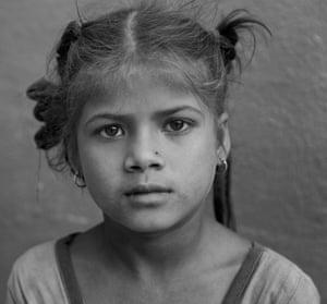 Daughter of a rickshaw wallah.