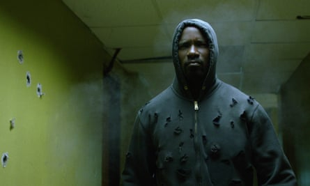 There's always someone unarmed being gunned down. It's too close to home for me … Mike Colter in Luke Cage.