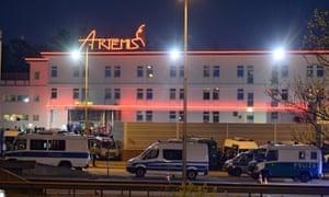 Hells Angels brothel raided by 900 officers, say German