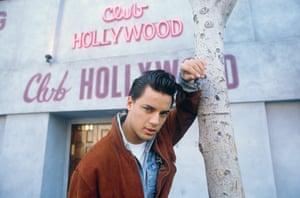 Nick Kamen in Los Angeles in December 1986