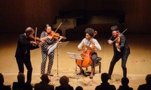 The Thalea Quartet at the Britten weekend.